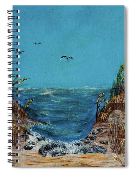 Horse Neck Spiral Notebook
