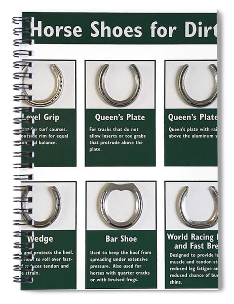 Horseshoes Spiral Notebook