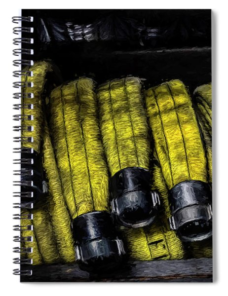 Hose Rack Spiral Notebook