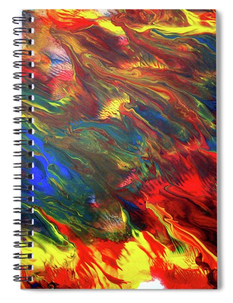 Hot Colors Coolling Spiral Notebook