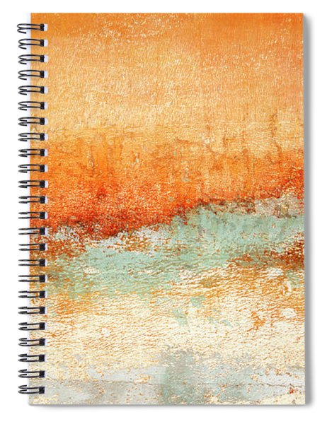 Hot Days Cool Waters Spiral Notebook