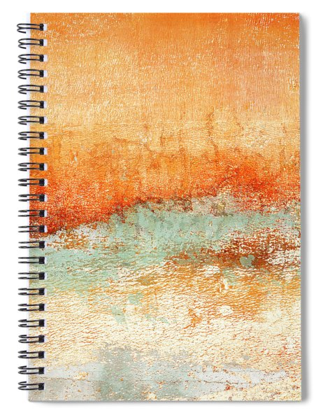 Hot Days Cool Waters Square Format Spiral Notebook
