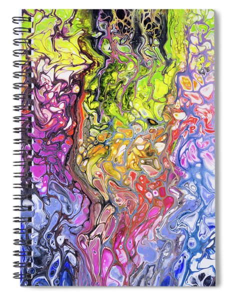 Hot Lava Spiral Notebook by Lisa Smith