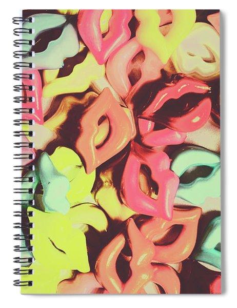 Hot Lips 1960 Spiral Notebook
