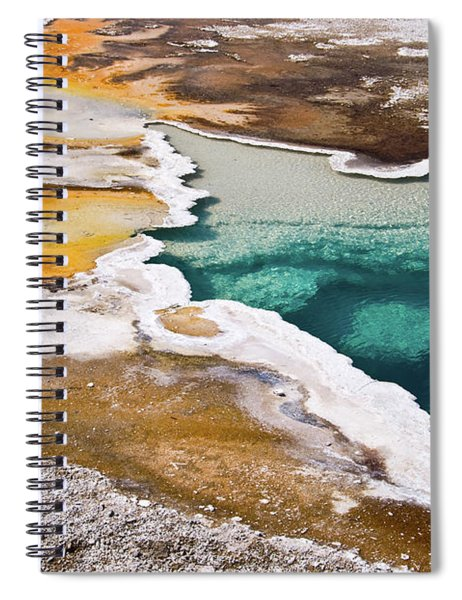 Hot Spring  Spiral Notebook