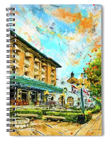 Hot Springs, Arkansas Bath House Spiral Notebook