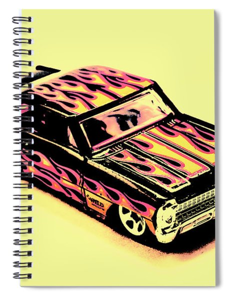 Hot Wheels Spiral Notebook