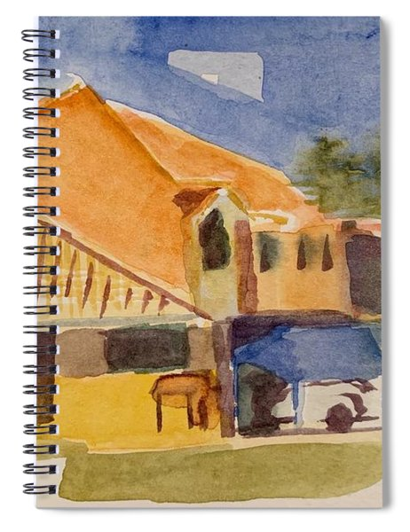 House Across The Way Spiral Notebook