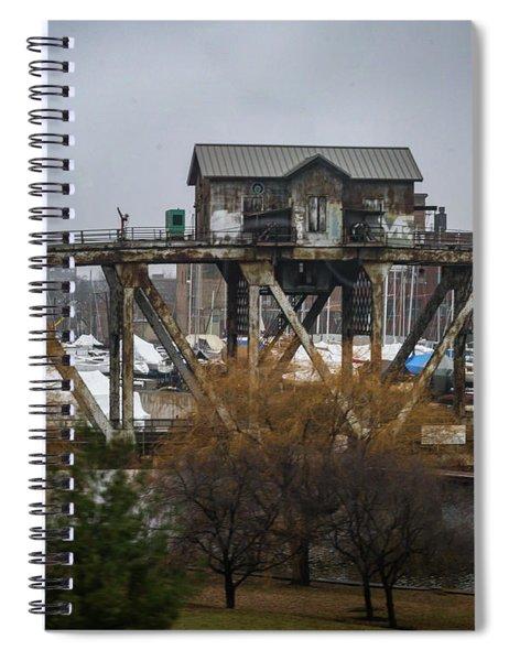 House Bridge Spiral Notebook