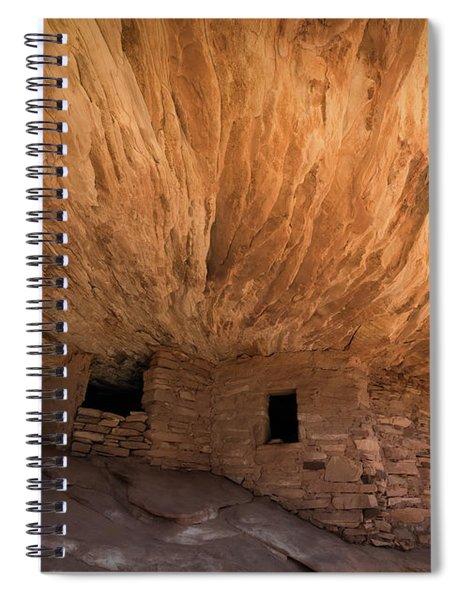 House On Fire Spiral Notebook