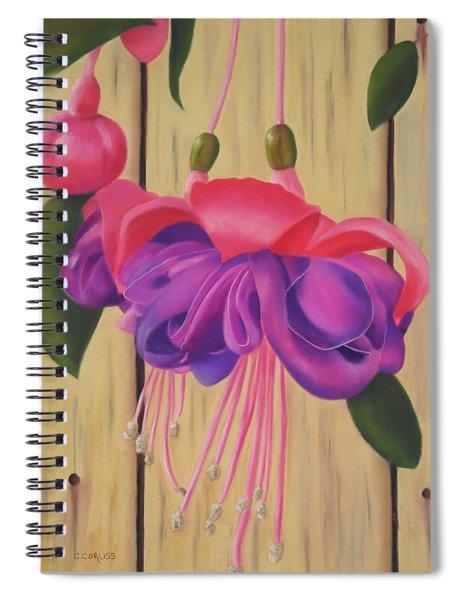 Hummingbird Delight Spiral Notebook
