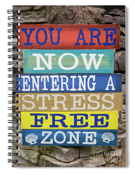 Humorous Sign Spiral Notebook