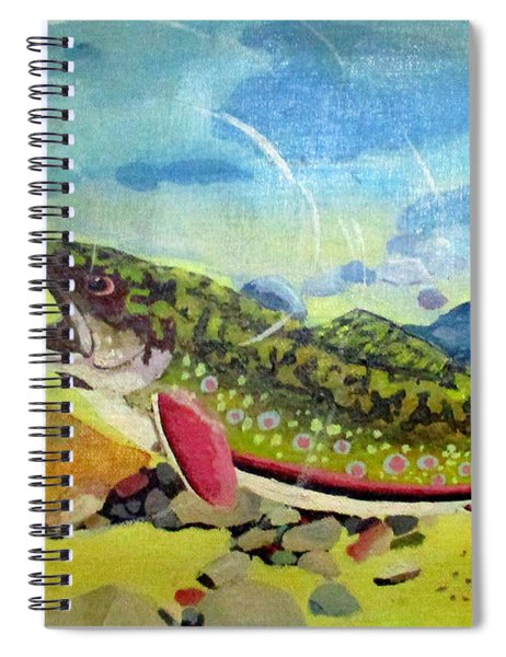 Hungry Trout Spiral Notebook