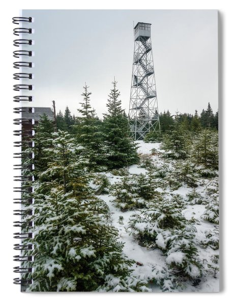 Hunter Mountain Fire Tower Spiral Notebook
