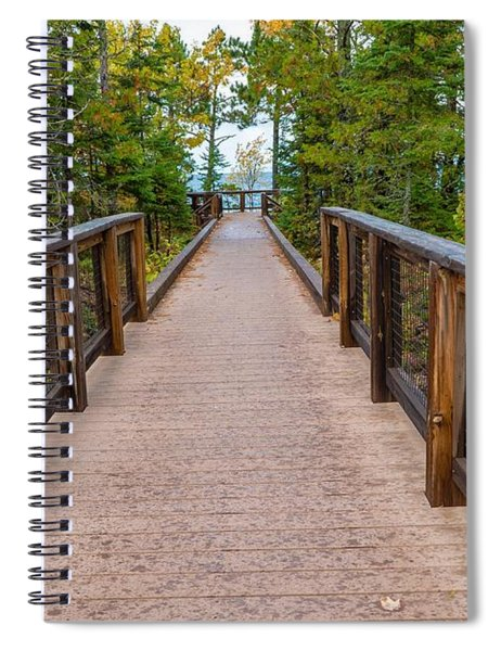 Hunter's Point At Copper Harbor Spiral Notebook