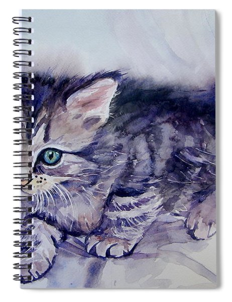 Hunting For A Mouse Spiral Notebook