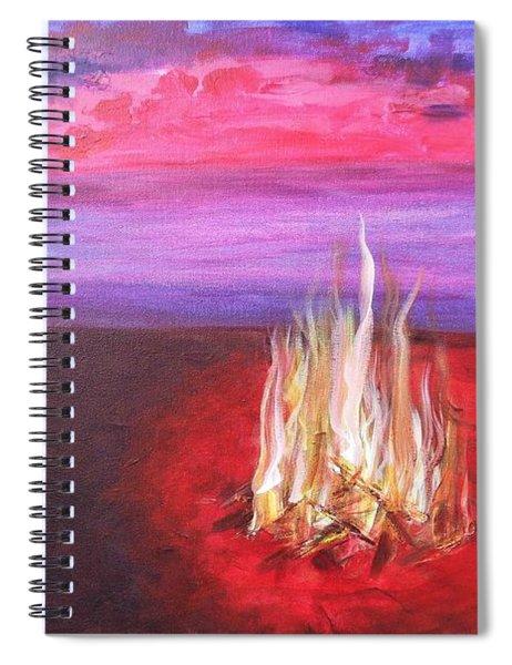 Huntington Beach Thursday Night Spiral Notebook
