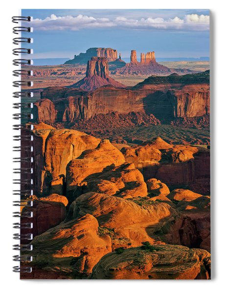 Hunts Mesa Sunrise Spiral Notebook
