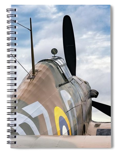 Hurricane At The Ready Spiral Notebook