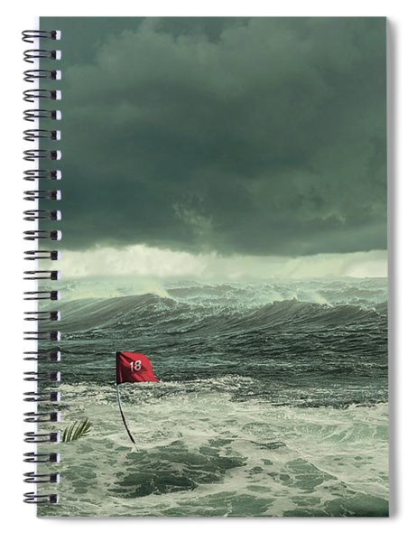 Hurricane Florence 2018 Spiral Notebook