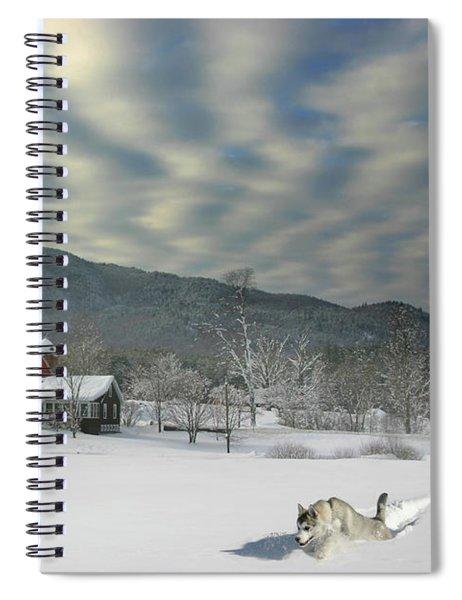 Huskie Freestyle Spiral Notebook