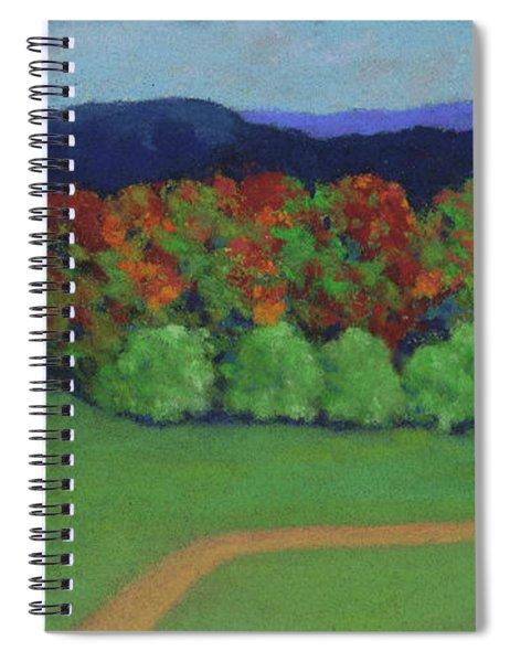 Hutchins Farm In Fall Spiral Notebook