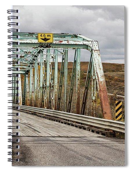Hwy 552 Bridge Spiral Notebook