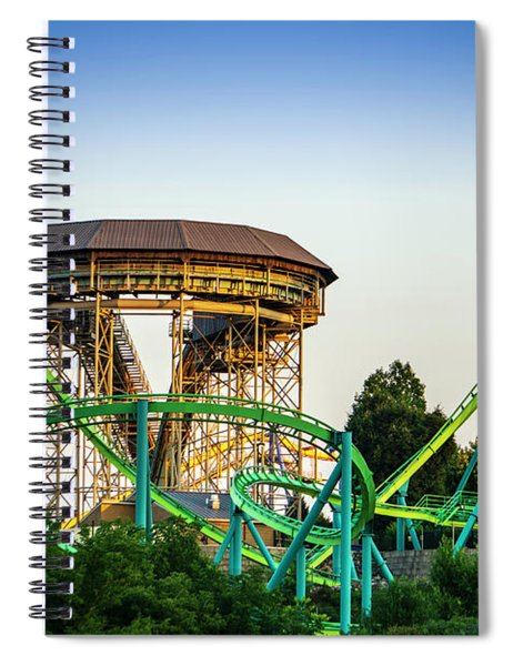 Inversions Spiral Notebook