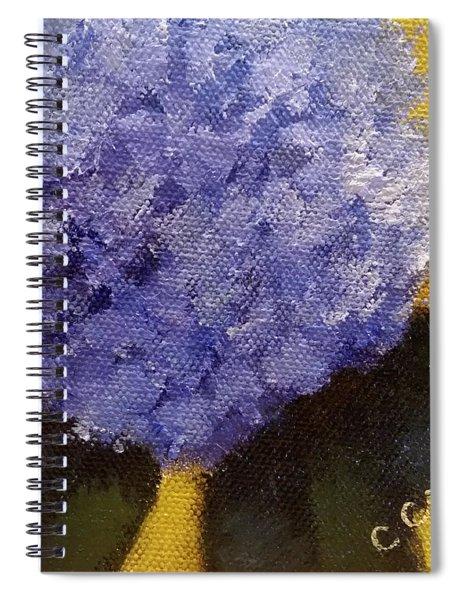 Hydrangea I Spiral Notebook
