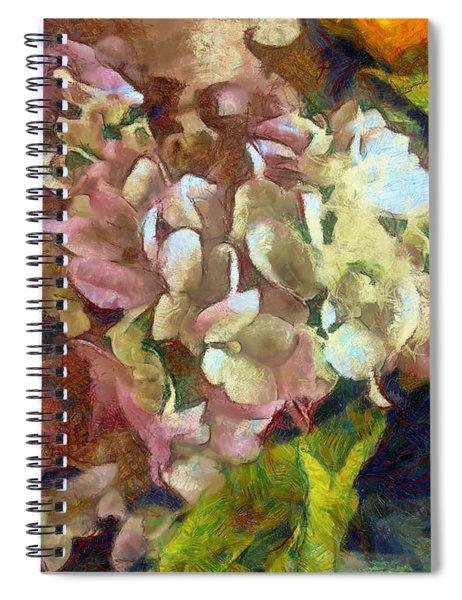 Hydrangea Love Spiral Notebook