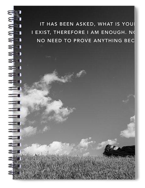 I Am Enough - Part 4 Spiral Notebook