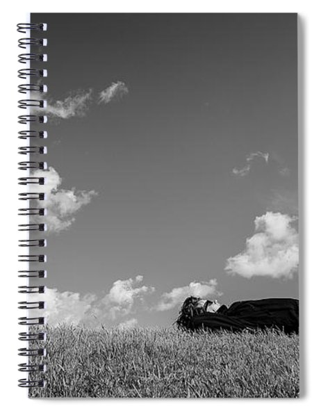 Spiral Notebook featuring the digital art I Am Enough - Part 4 by ISAW Company