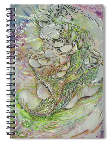 I Am Of The Sky Spiral Notebook