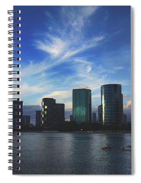 I Gently Let It Go Spiral Notebook