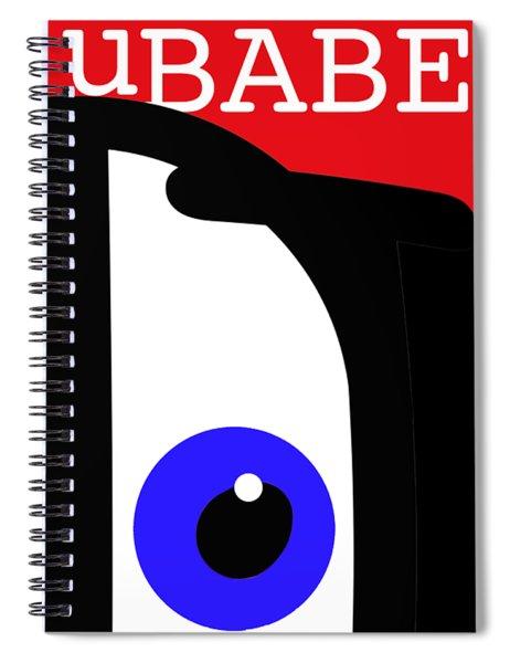 I See Ubabe Spiral Notebook