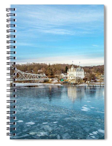 Ice Blue   Spiral Notebook