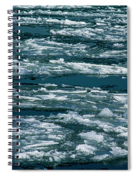 Ice Cold Spiral Notebook