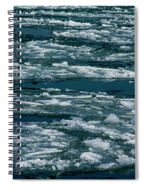 Ice Cold With Filter Spiral Notebook