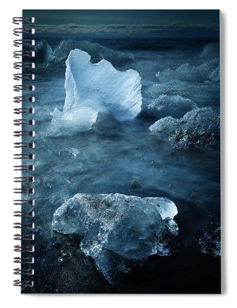 Ice Shells Spiral Notebook