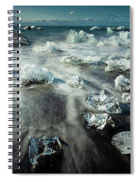 Iceberg Beach Spiral Notebook