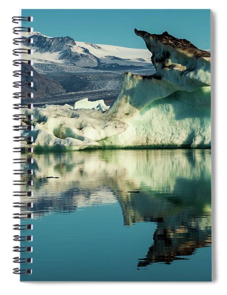 Iceberg, Jokulsarlon Spiral Notebook