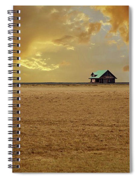 Iceland Countryside Spiral Notebook