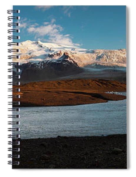 Iceland Panorama Spiral Notebook