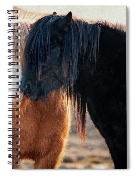 Icelandic Horse Love Spiral Notebook
