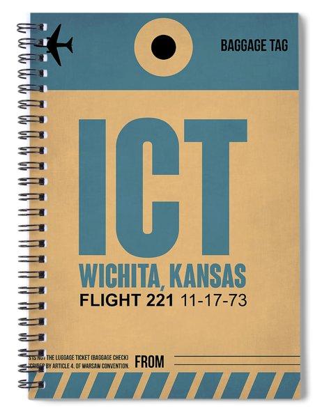 Ict Wichita Luggage Tag I Spiral Notebook
