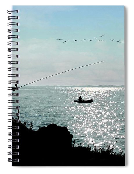 Idyllic Morning  Spiral Notebook