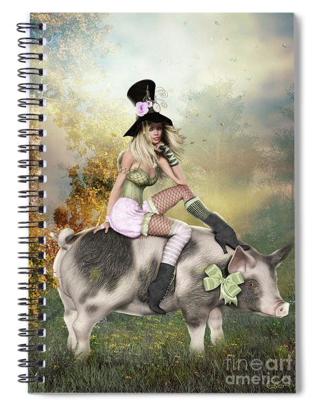 If Pigs Could Fly Spiral Notebook