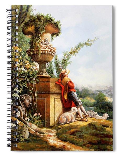 Il Pastore E Le Sue Pecore Spiral Notebook
