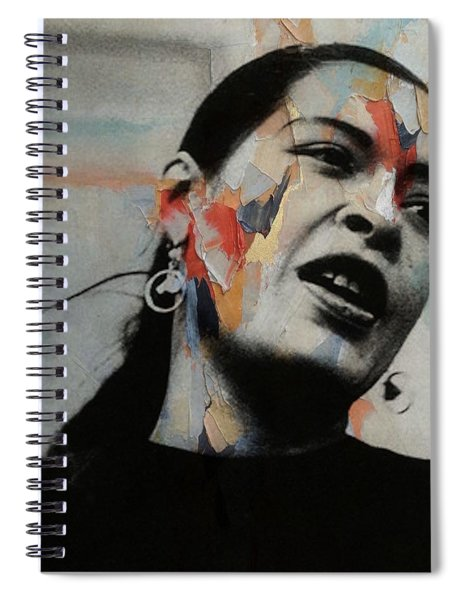 I'll Be Seeing You - Billie Holiday  Spiral Notebook