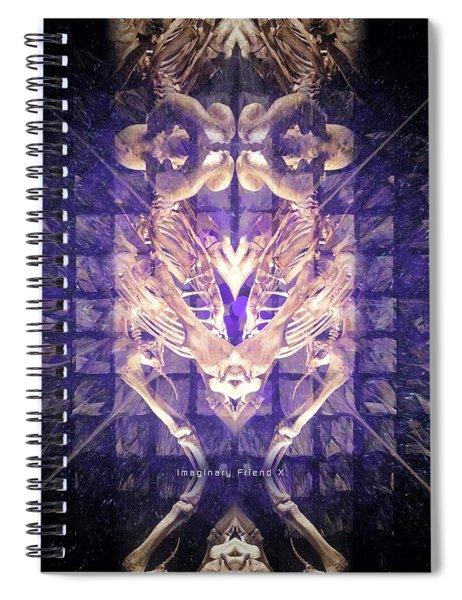 Imaginary Friend X Spiral Notebook